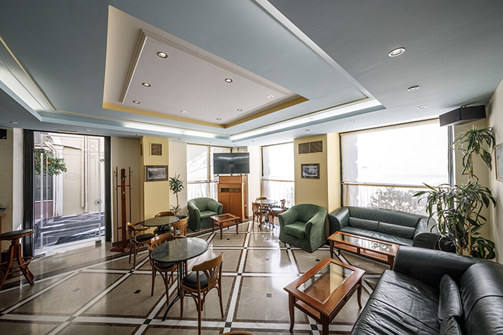Rex Hotel - Ξενοδοχείο 4 Αστέρων - Καλαμάτα - Virtual tour - Cafe - Bar