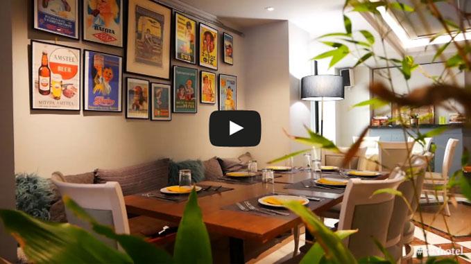 Rex Hotel Kalamata - Video - Restaurant - Cafe